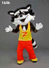 163B Skunk Costume Plush Mascot