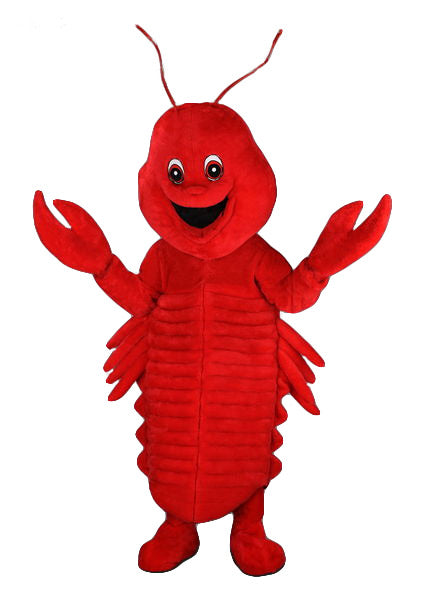 166B Lobster Costume - Plush Mascot