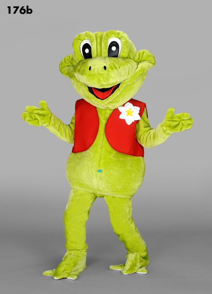 176B Happy Frog Costume Mascot