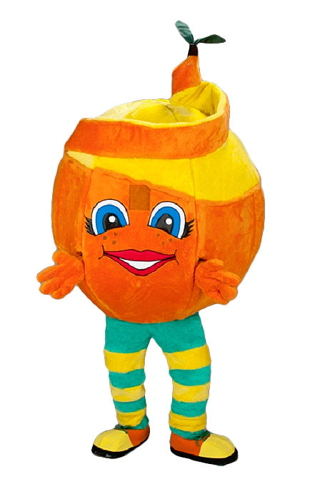 209S Orange Peel Mascot Costume
