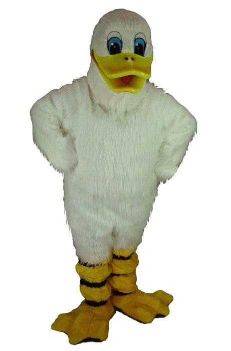 Quackers Duck Mascot Costume