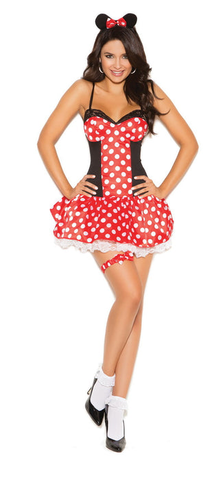 9130 Miss Mouse Costume
