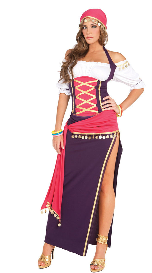 9225 Gypsy Maiden Fortuneteller Costume