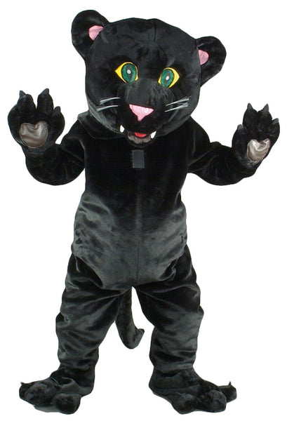 Black Panther Costume Mascot