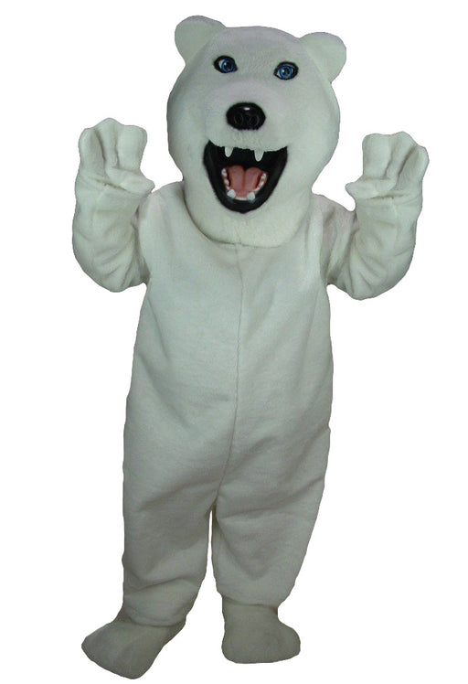 Iggy Polar Bear Mascot Costume