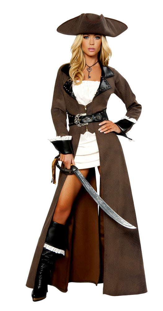 Roma 4242 deluxe pirate captain costume