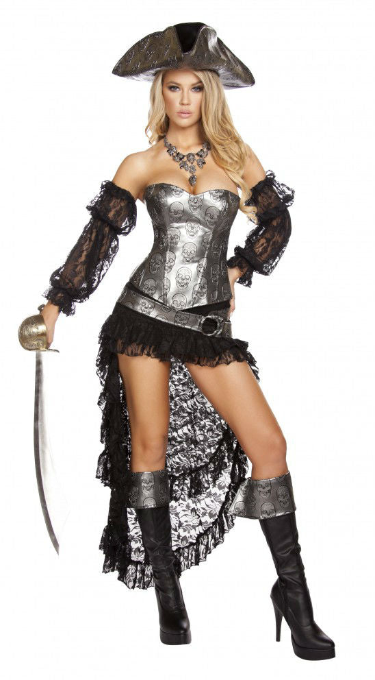 4572 deadly pirate costume roma