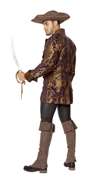 Deluxe Brocade Pirate Jacket