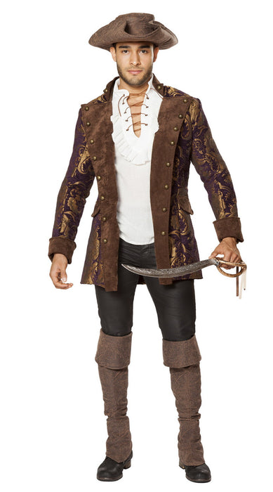 4650 deluxe brocade pirate jacket