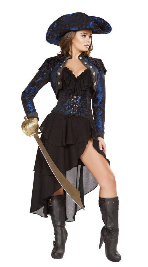 Roma 4652 pirate captain costume