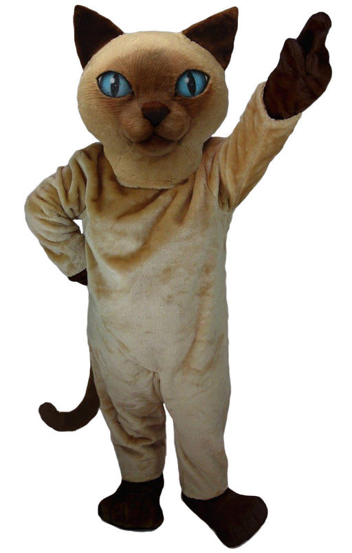 Siamese Cat Mascot Costume