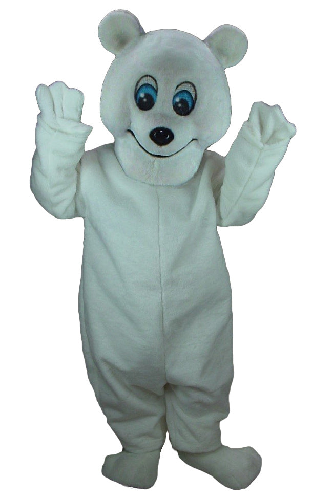 Frosty Polar Bear Mascot Costume