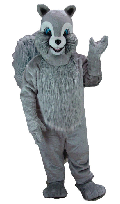 Grey Squirrel Mascot Costume