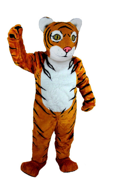 T0004 Tiger Cub Mascot Costume (Thermolite)