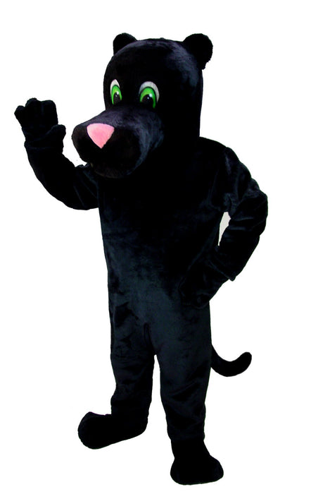 T0018 Cartoon Panther Mascot Costume (Thermolite)