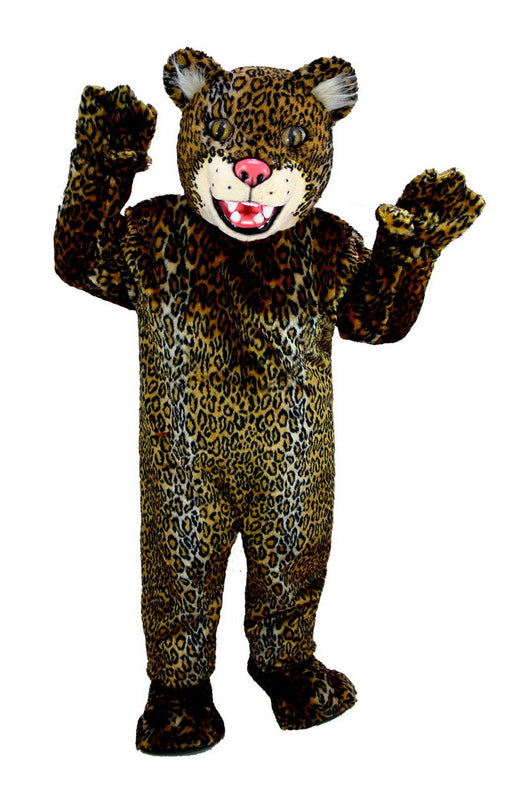 T0023 Spotted Jaguar Mascot Costume (Thermolite)