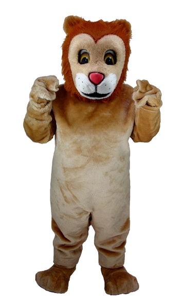 T0027 Friendly Lion Mascot Costume (Thermolite)