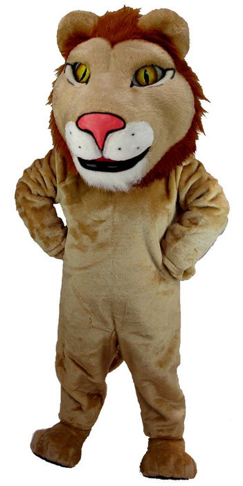 T0031 Leo The Lion Mascot Costume (Thermolite)