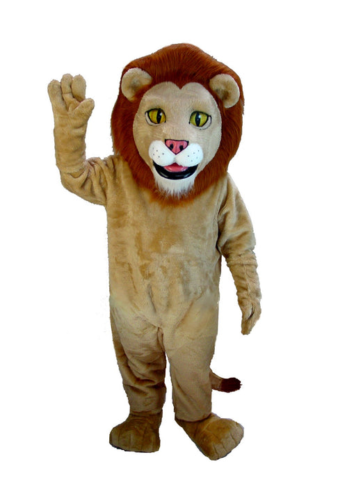 T0032 Lewis The Lion Mascot Costume (Thermolite)