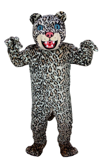 T0034 Spotted Leopard Mascot Costume (Thermolite)