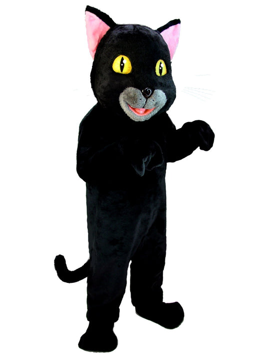 T0037 Black Cat Mascot (Thermolite)