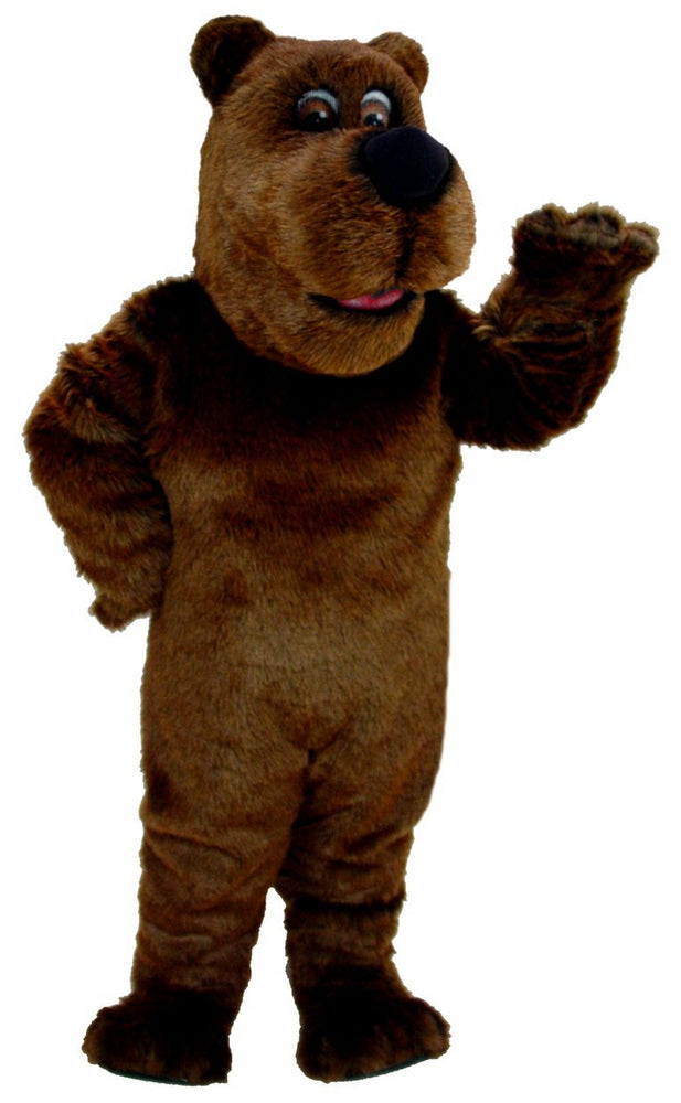 T0041 Cartoon Grizzly Bear Mascot Thermolite