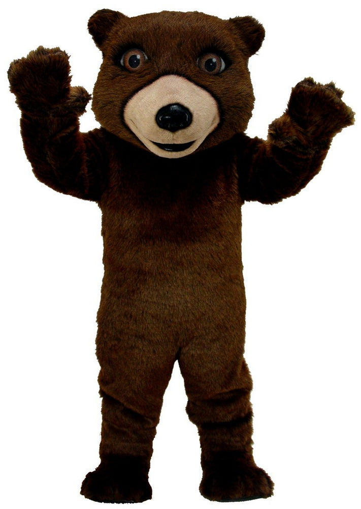 T0044 Friendly Grizzly Bear Mascot Thermolite