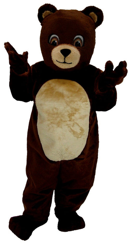 T0046 Chocolate Bear Mascot (Thermolite)