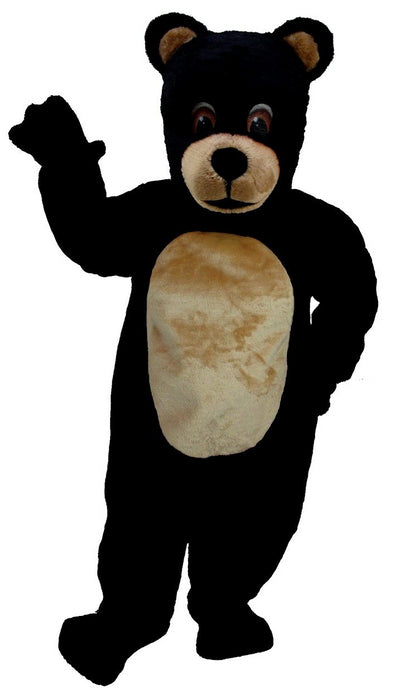 T0049 Jr. Black Bear Mascot (Thermolite)