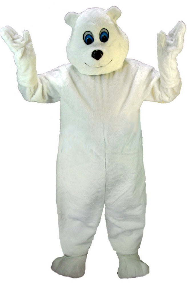 T0064 Happy Polar Bear Mascot (Thermolite)