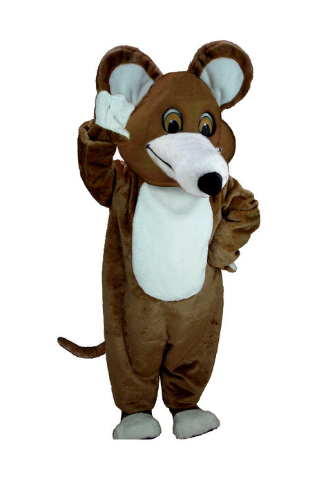 T0068 Brown Mouse Mascot Costume (Thermolite)