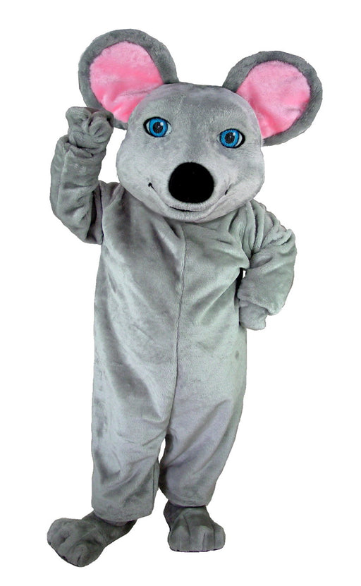 T0069 Grey Mouse Mascot Costume (Thermolite)