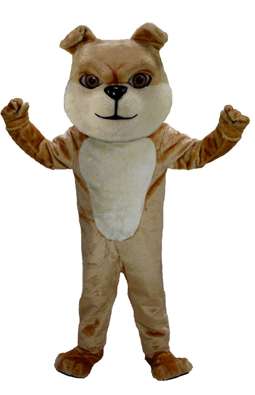 T0075 Cream Bulldog Mascot Costume (Thermolite)