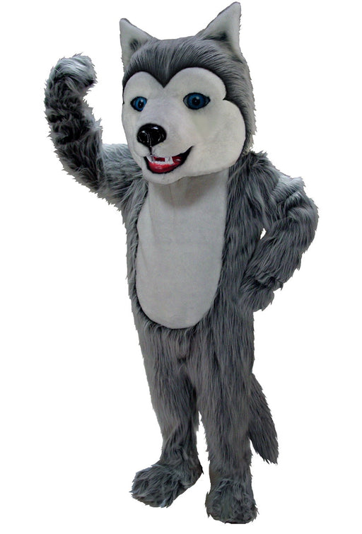 T0079 Grey Husky Mascot Costume (Thermolite)