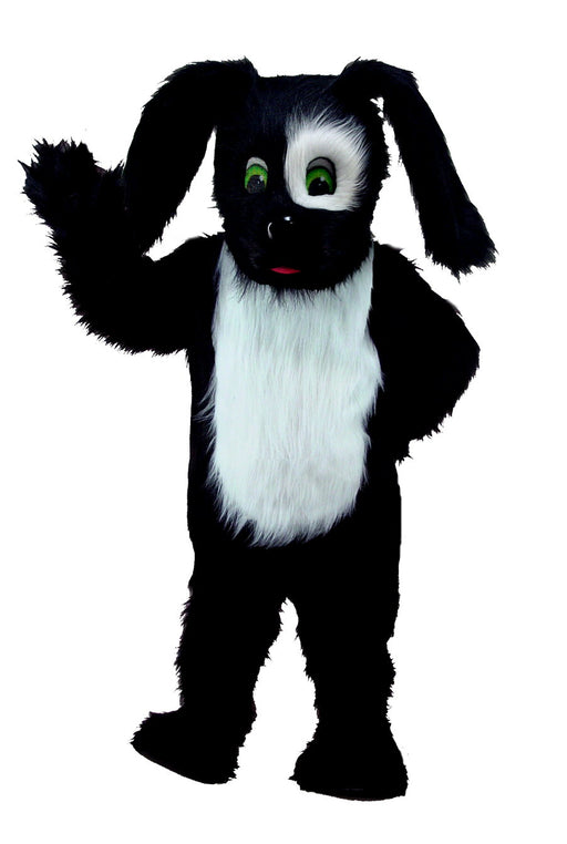 T0088 Black Sheepdog Mascot Costume (Thermolite)