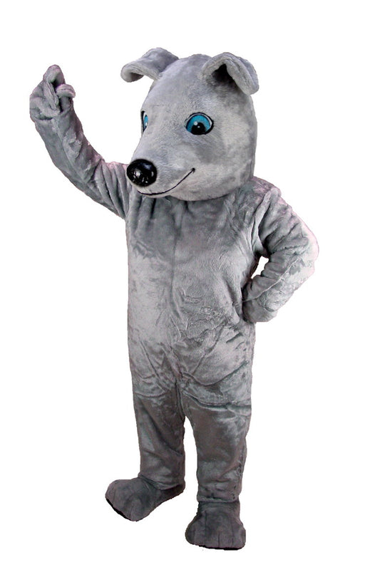 T0089 Greyhound Dog Mascot Costume (Thermolite)