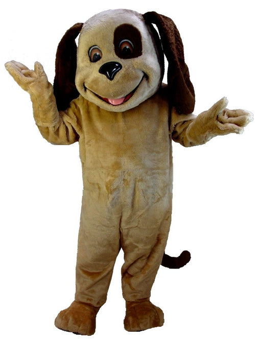 T0090 Tan & Brown Dog Mascot Costume (Thermolite)