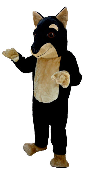 T0092 Doberman Pinscher Mascot Costume (Thermolite)
