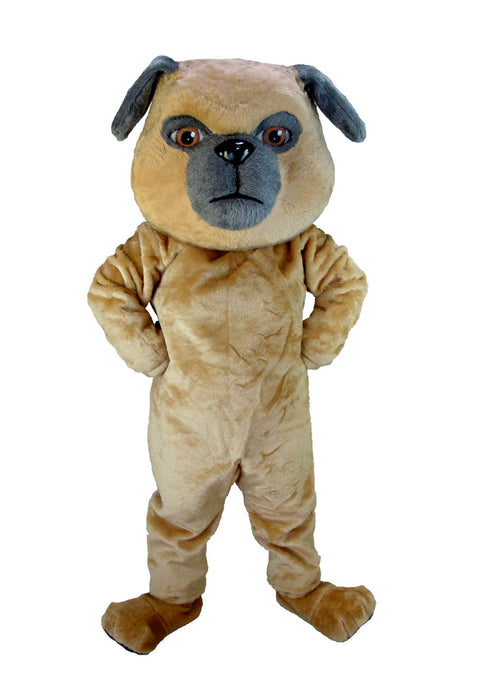 T0093 Pug Dog Mascot Costume (Thermolite)