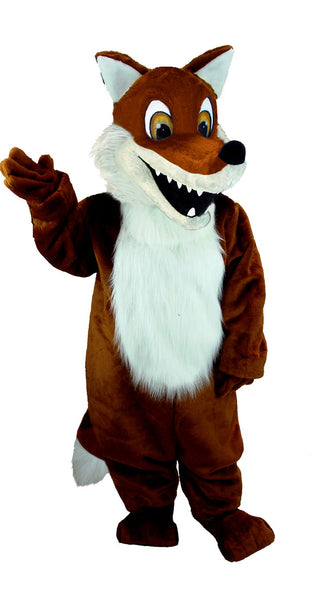 T0100 Red Fox Mascot Costume (Thermolite)