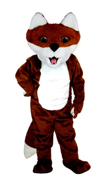 T0102 Cartoon Fox Mascot Costume (Thermolite)