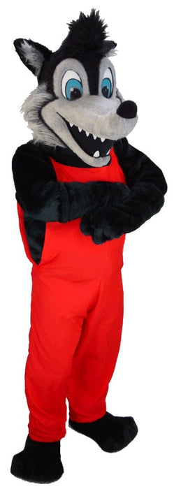 Big Bad Wolf Mascot Costume T0107 MaskUS