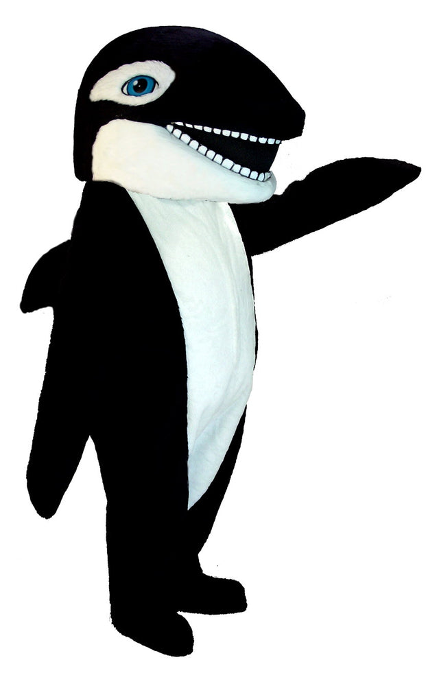 T0127 Killer Whale Mascot Costume (Thermolite)