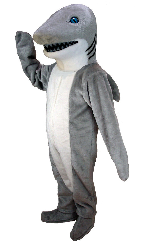 T0128 Shark Mascot Costume (Thermolite)