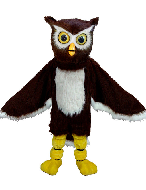 T0141 Owl Bird Mascot Costume (Thermolite)