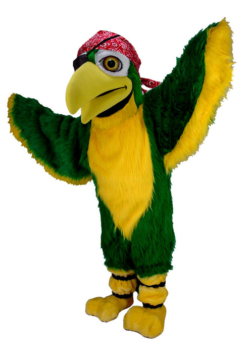 T0149 Polly Parrot Bird Mascot Costume (Thermolite)
