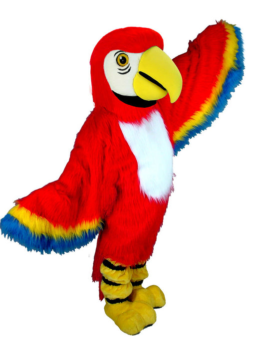 T0150 Red Macaw Mascot Costume (Thermolite)