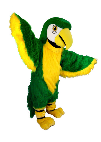 T0151 Green Parrot Bird Mascot Costume (Thermolite)
