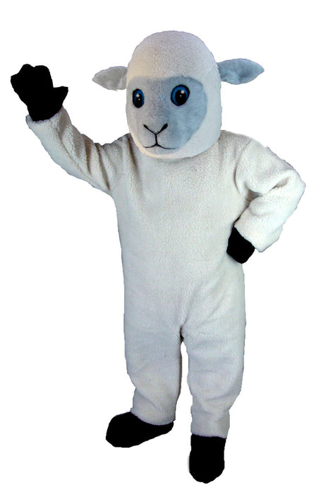 T0162 Lamb Mascot Costume (Thermolite)