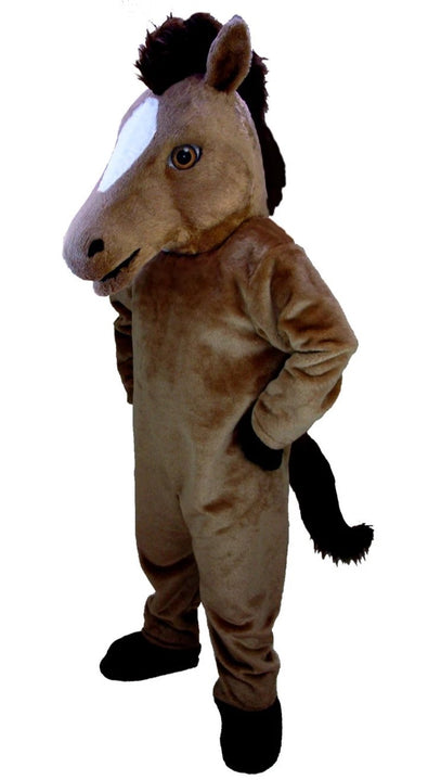 T0166 Mustang Horse Mascot Costume (Thermolite)